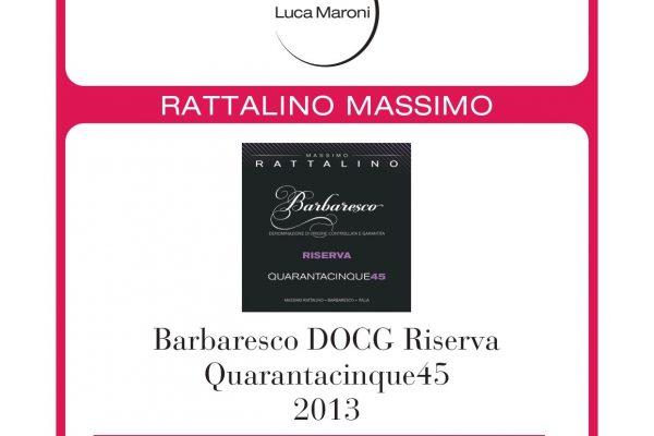 Luca Maroni Barbaresco riserva 90 punti